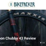 Atomik Carbon CHUBBY 43 Review - 27.5 Plus - Bikepacker
